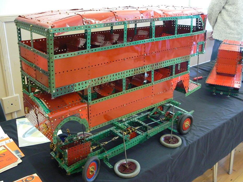 Set 10 Double deck Bus 2010