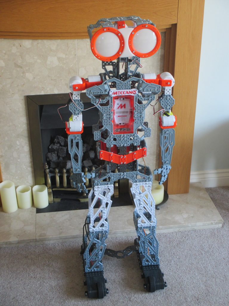 Programmable Meccanoid (from kit)