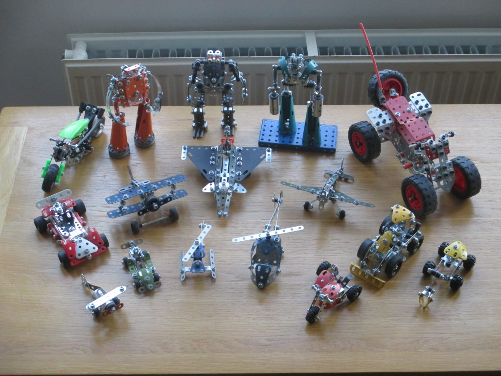 Various kit models