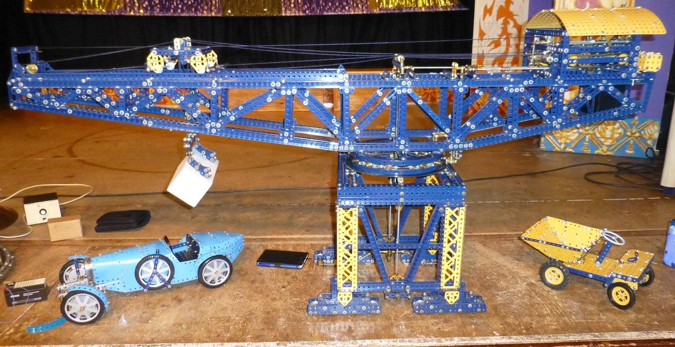 Block Setter , Dump Truck & Bugatti SWMC Exhib 2013