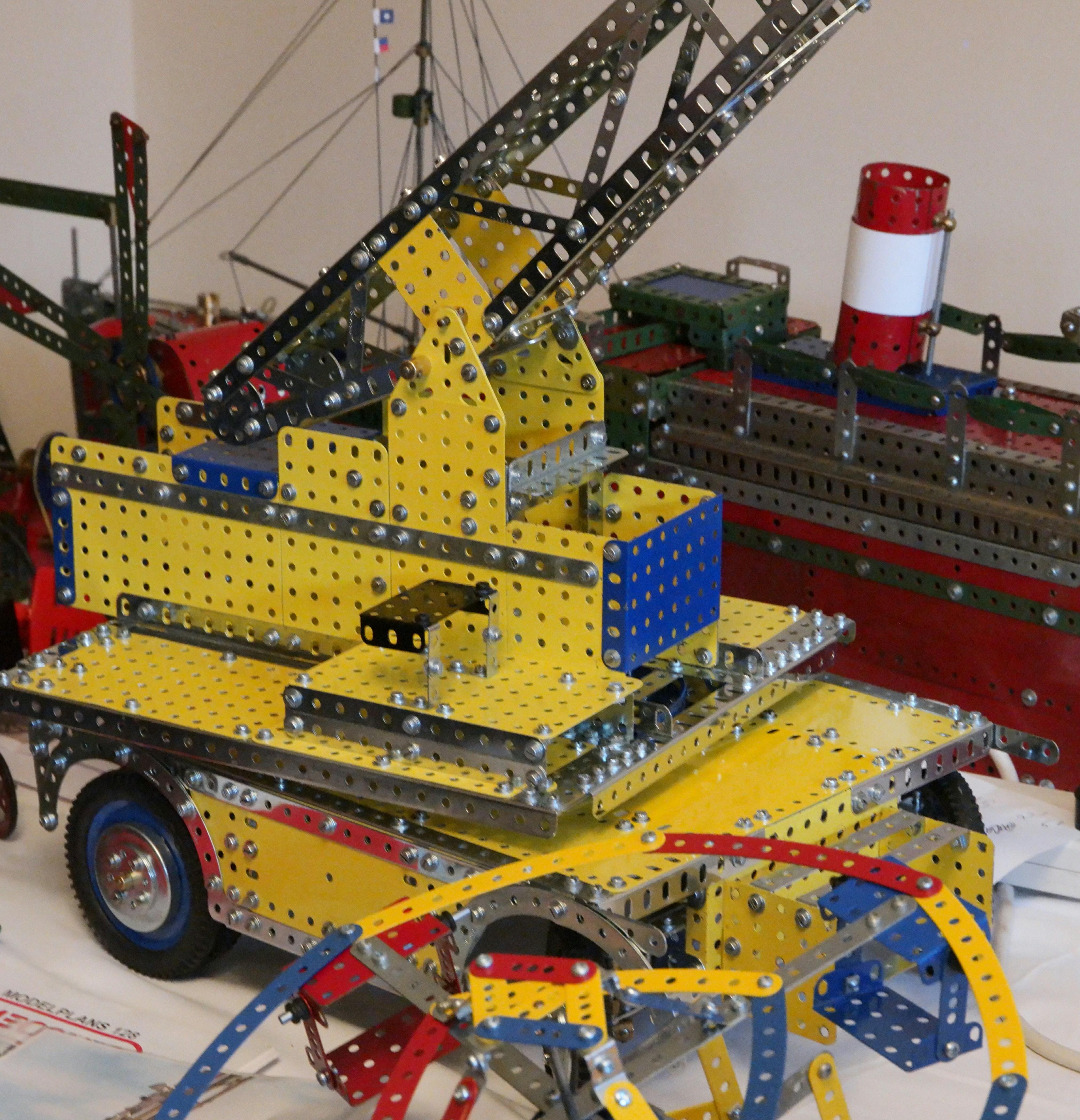 RC crane