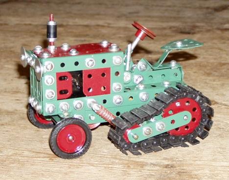 Half Track Tractor