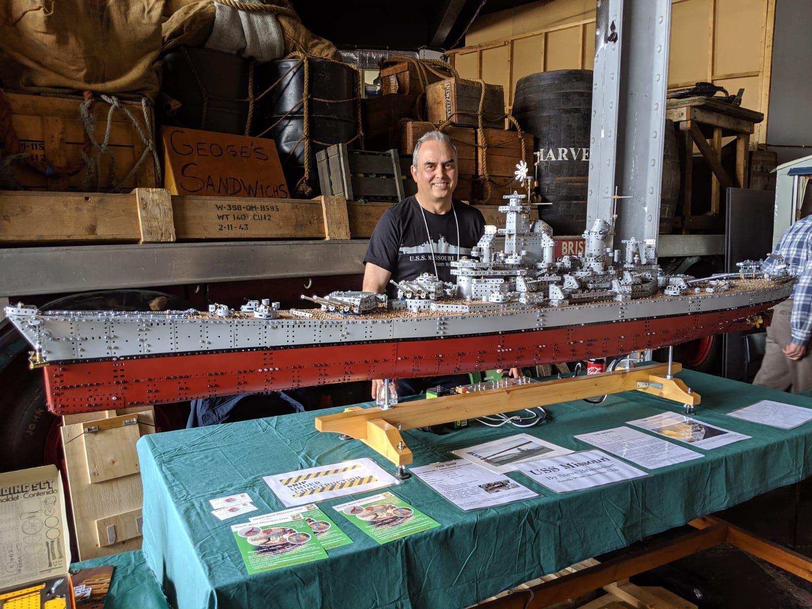 Steve Briancourt USS Missouri M Shed 2019