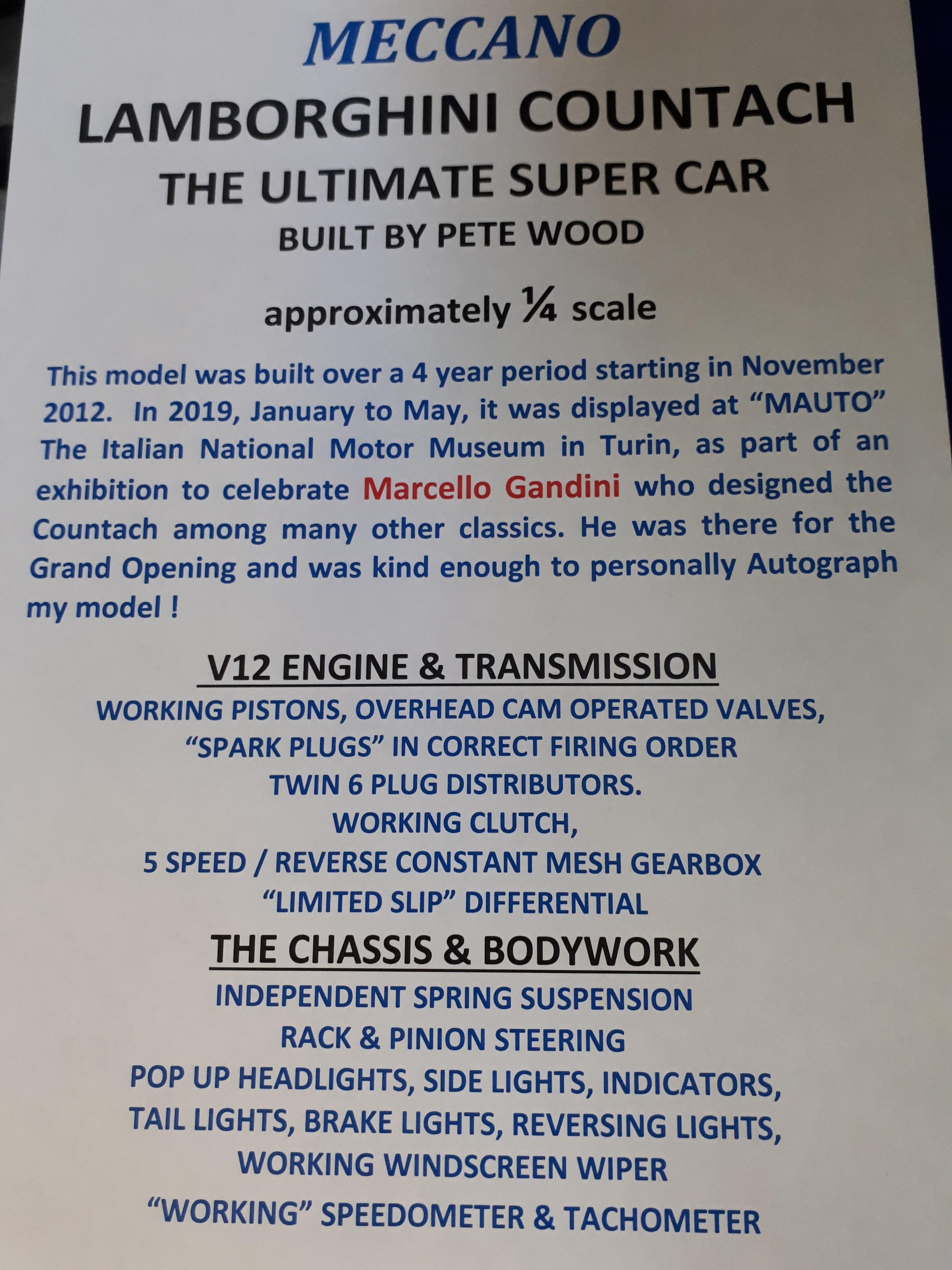 Pete Wood Lamborghini info