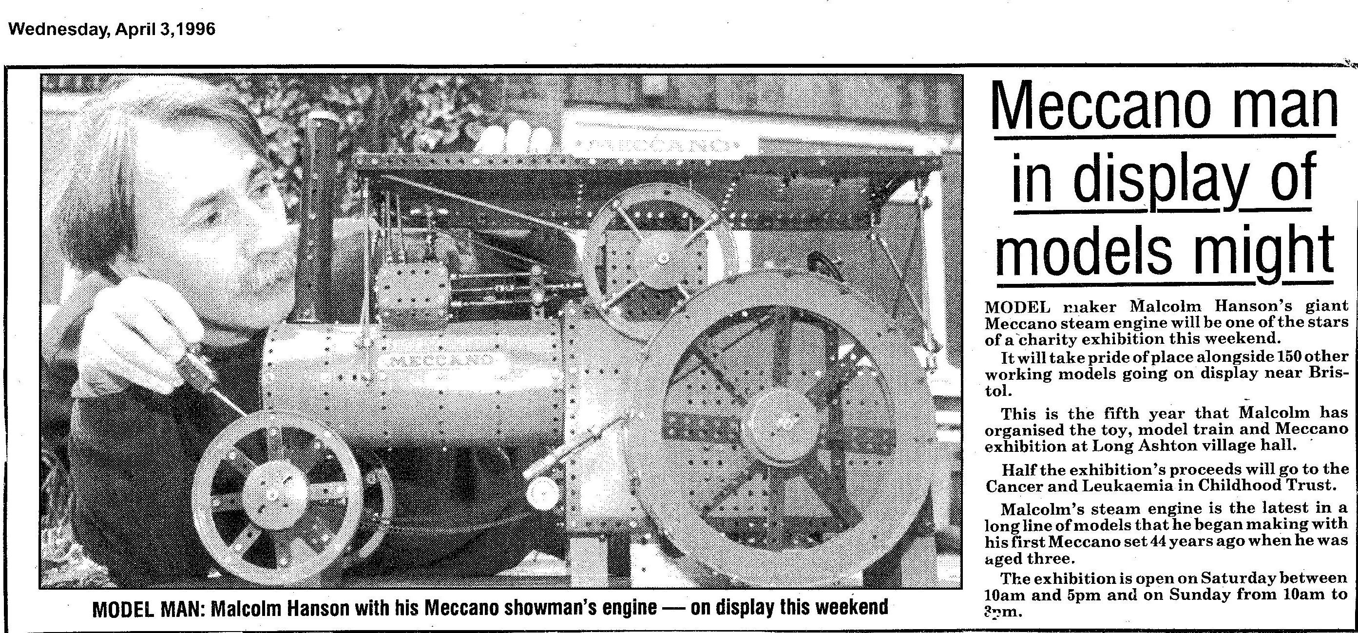 newspaper article for LA 1996