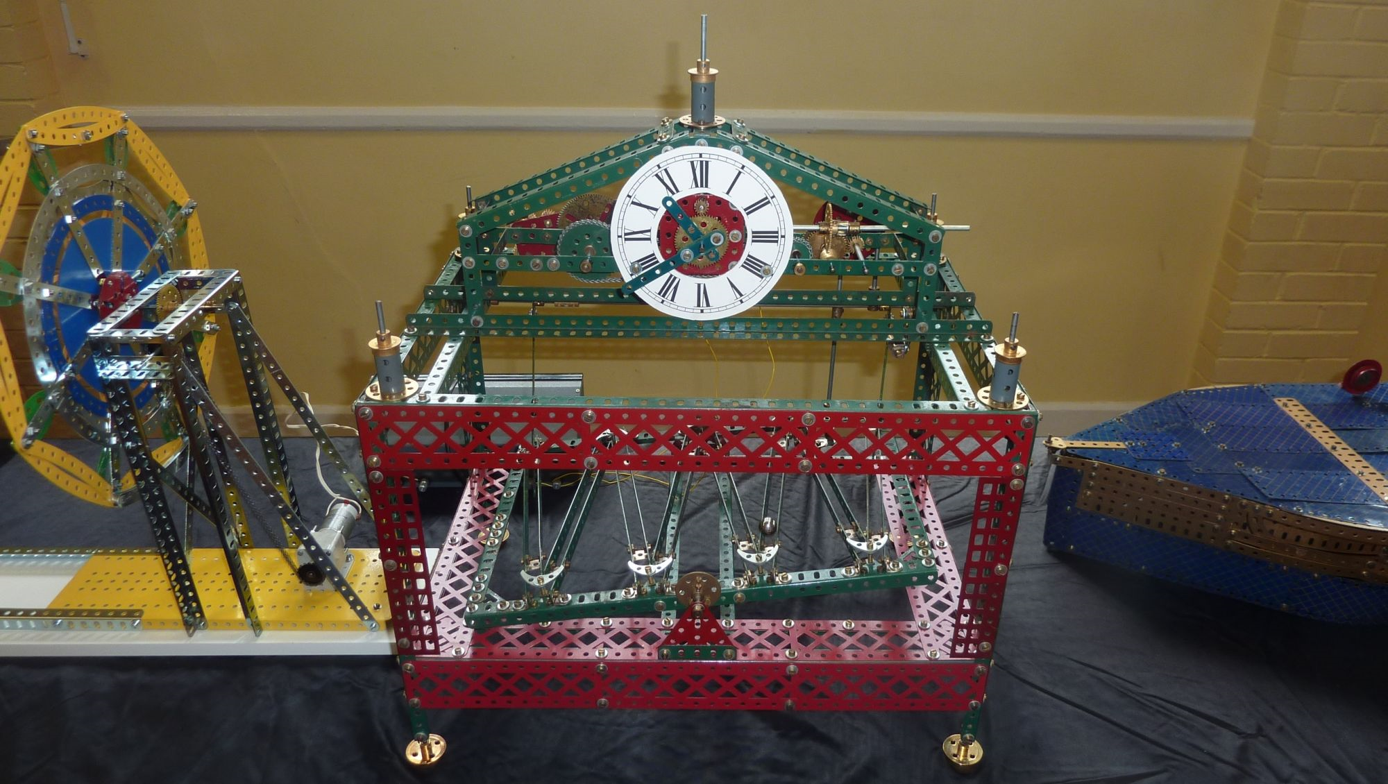 2011 May Exhibition Malcolm Hanson Congreve Rolling Ball Clock