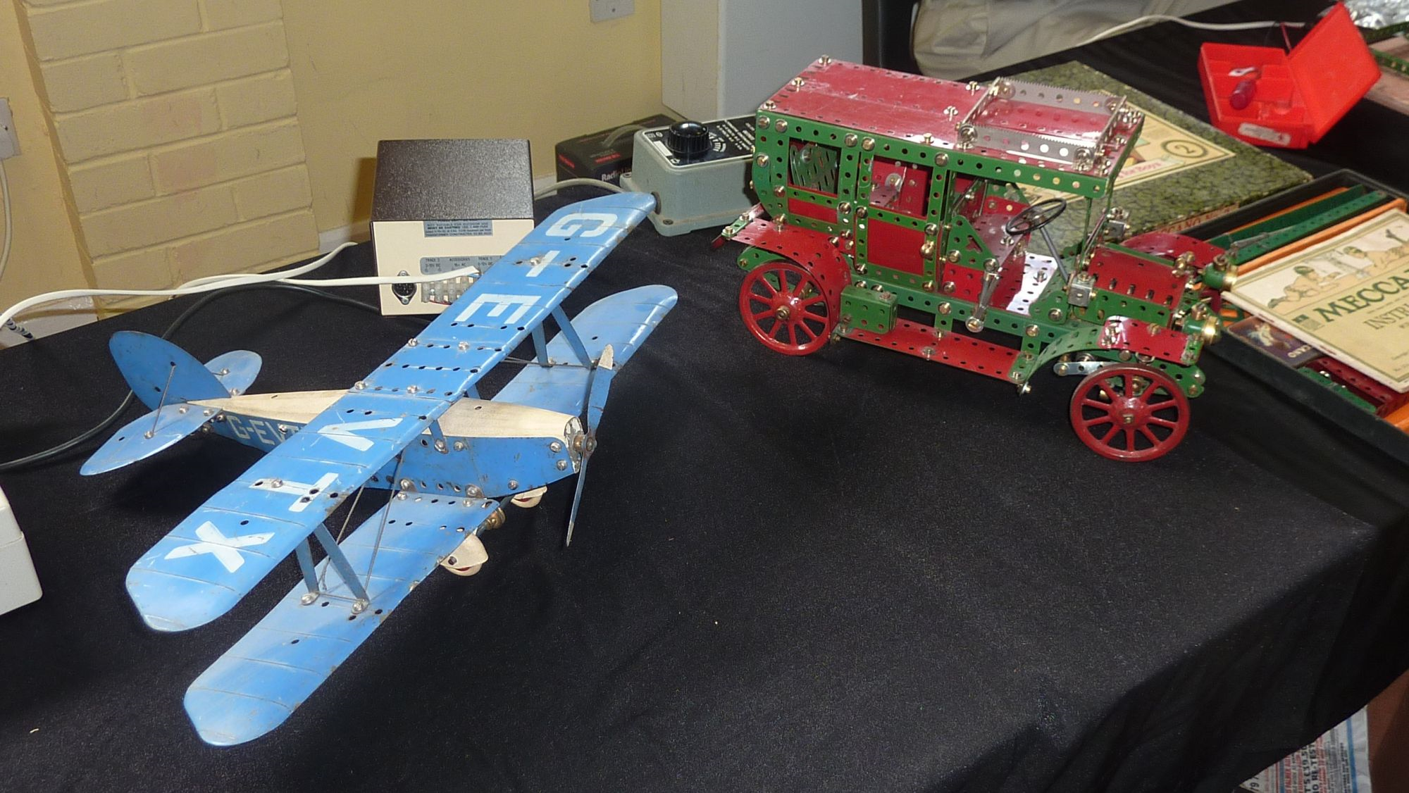 2011 May Exhibition Paris taxi and Aeroplane Constructor by Pete Evans
