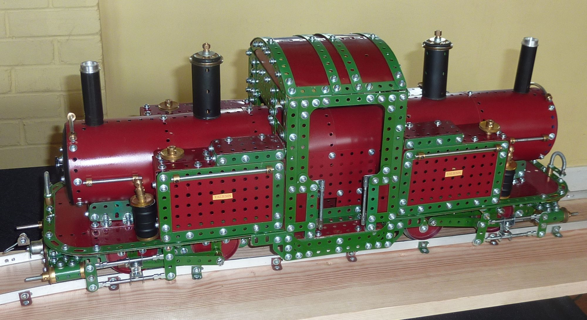 2011 May Exhibition Taleisin Locomotive by Terry Childs