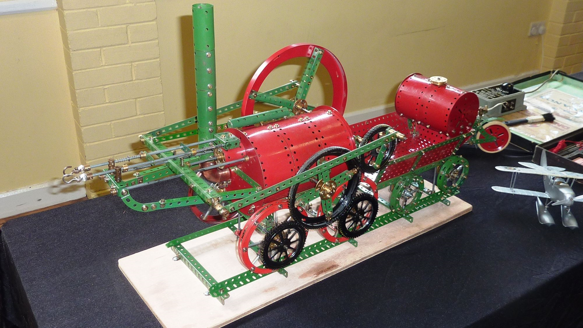 2011 May Exhibition Trevithick Pennydarren Locomotive by Pete Evans