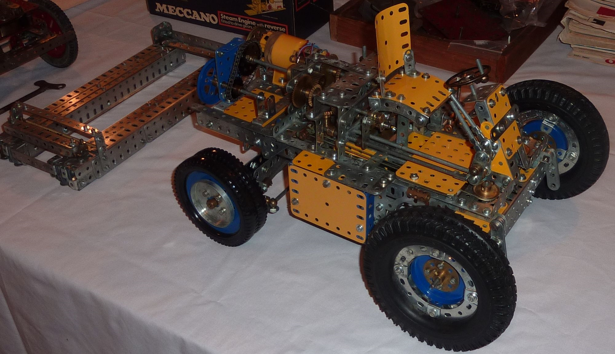 2011 October Fork-lift truck model in progress by John Day