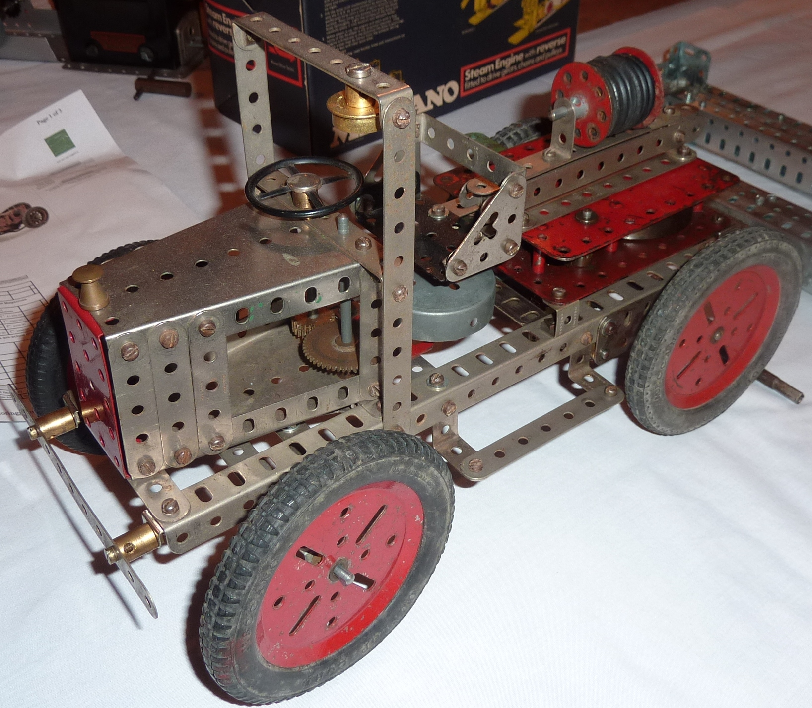 2011 October Nickel period manual model of a fire engine by David Northcott