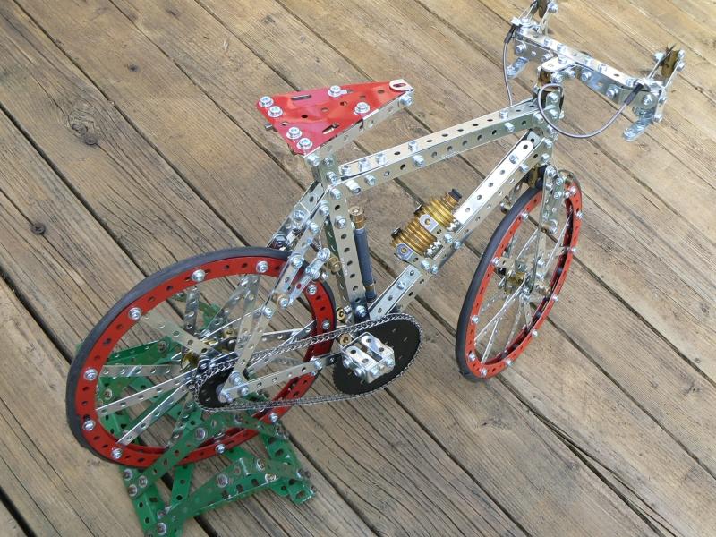 CF Red and Zinc bike 2