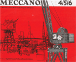 Meccano manual photo sets 4-5-6