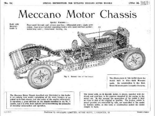 PB plan for car chassis