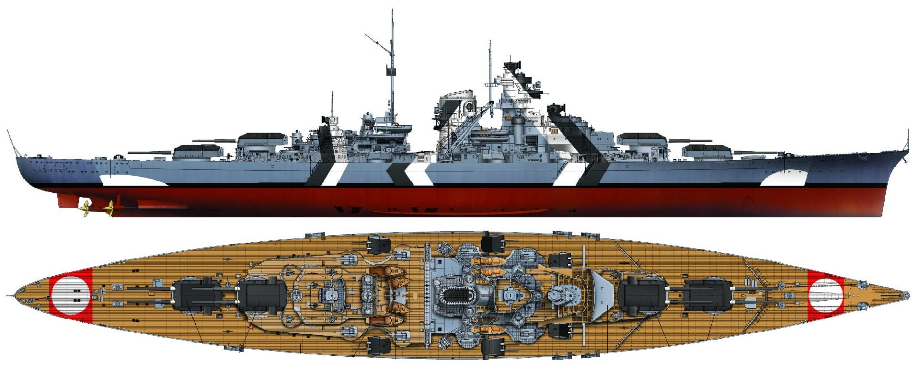Bismarck class battleship