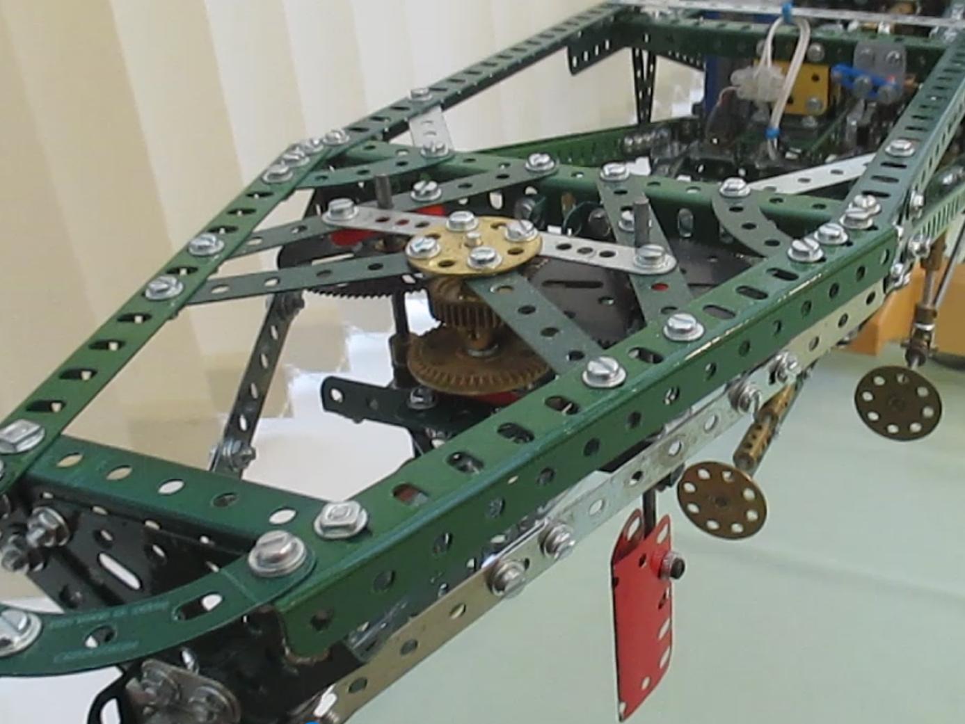 Rudder gears